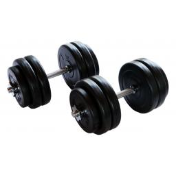 V-fit 30kg Dumbbell Set