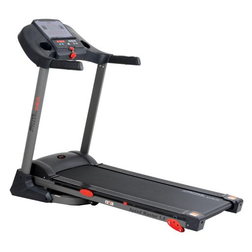 MOTIVEfitness by UNO Speedmaster 1.8M Manual Incline Treadmill (black)