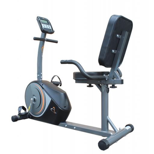 V-fit PMRC-1 Programmable Magnetic Recumbent Cycle Trainer