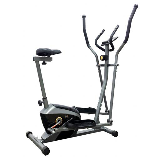 V-fit AL-16/1CE Combination 2-in-1 Magnetic Cycle-Elliptical Trainer