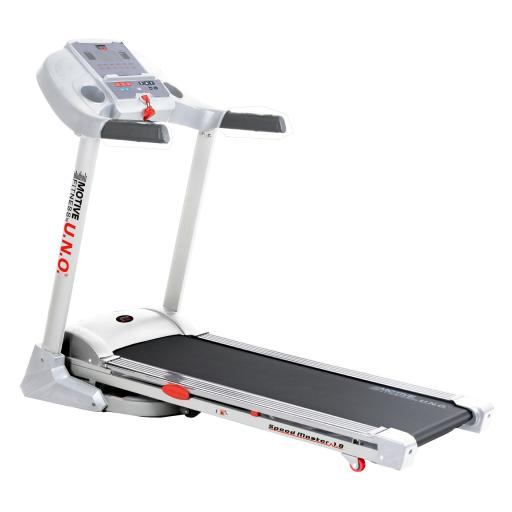 MOTIVEfitness by UNO Speedmaster 1.8M Manual Incline Treadmill (white)