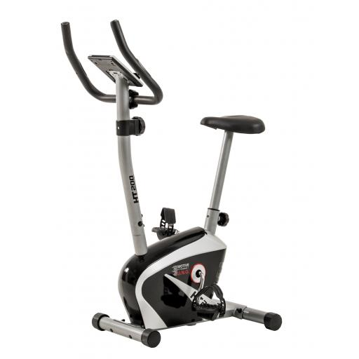 MOTIVEfitness by U.N.O. HT200 Upright Magnetic Exercise Bike